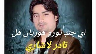 Sindhi Song Aye Chand thoro horian hall || Nadir Lashari