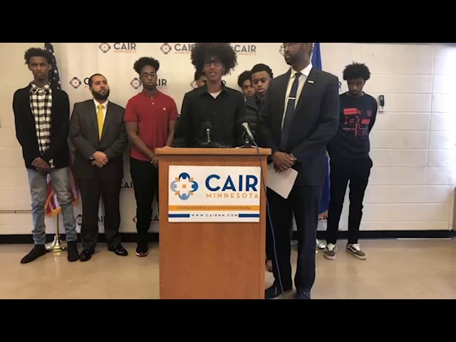 Video: CAIR-Minnesota Holds News Conference with Muslim Teens Involved in McDonald's Gun Incident