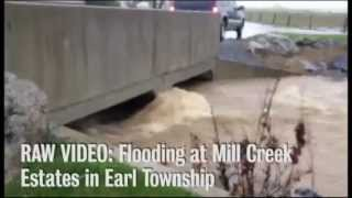 Flooding from Sandy at Mill Creek Estates