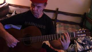 Moon River - Breakfast at Tiffany's Mancini song for Solo Guitar