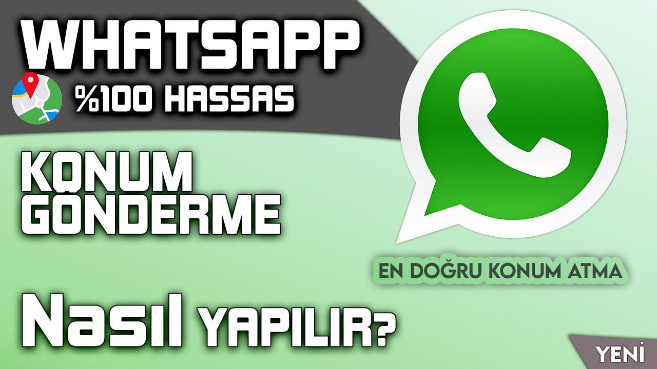 Whatsapp Sahte Konum Nasıl Gönderilir?