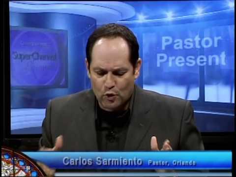 Pastor Present with Guest Carlos Sarmiento
