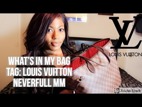 Whats In My Bag Tag: Louis Vuitton Neverfull MM