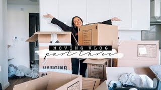 MOVING VLOG PART THREE + CLEAN WITH ME! | Hello October