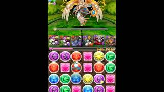 [Puzzle & Dragons] Zeus-Dios Descend - Ronia X Lu Bu Team
