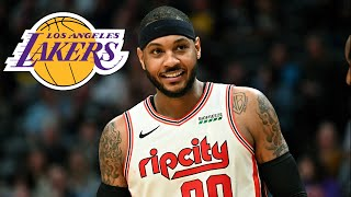 Lakers Sign Carmelo Anthony