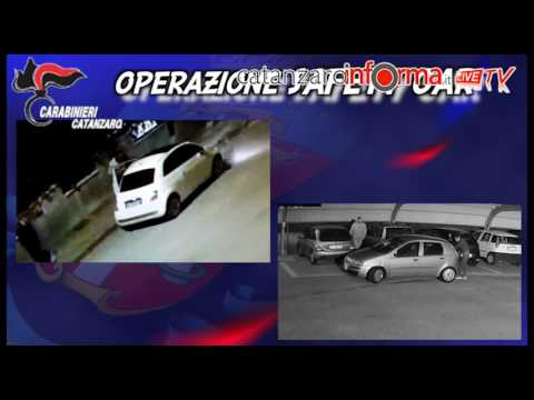 Operazione Safety Car, i furti d
