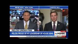Rep. Swalwell on MSNBC discussing Nancy Pelosi & Senate GOP Trumpcare bill