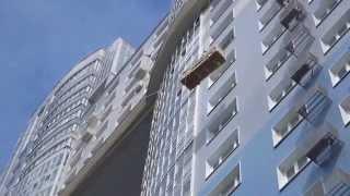 Подъем грузов.  Подъем дивана. Промышленный альпинизм в Москве(, 2014-08-09T00:39:50.000Z)
