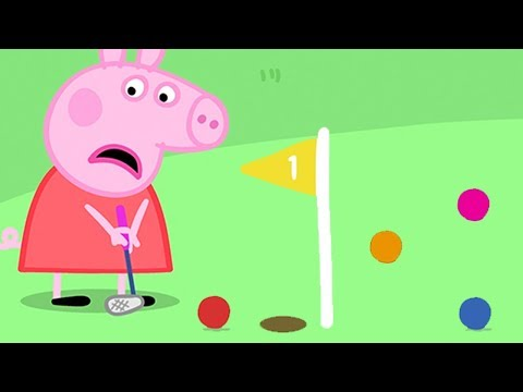 Peppa Pig Official Channel Peppa Pig Meets Rosie And Robbie Rabbit