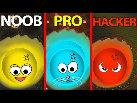 Wormate.io © NOOB vs PRO vs HACKER .EXE 2.0 2019