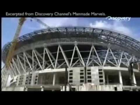 Discovery Channel spotlights the Philippine Arena.