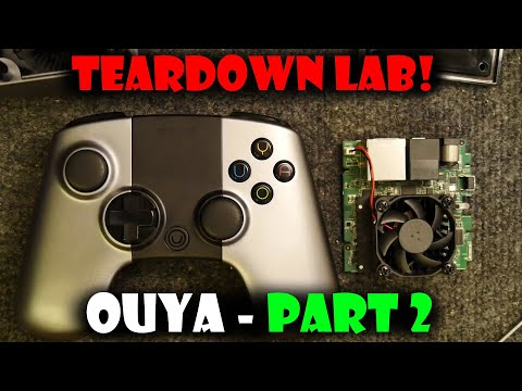 Teardown Lab - Ouya Part 2 Main Unit