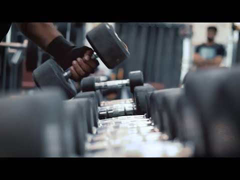 Gym Workout Cinematic Edit | Cinematic Fitness Edit | Gym B-roll
