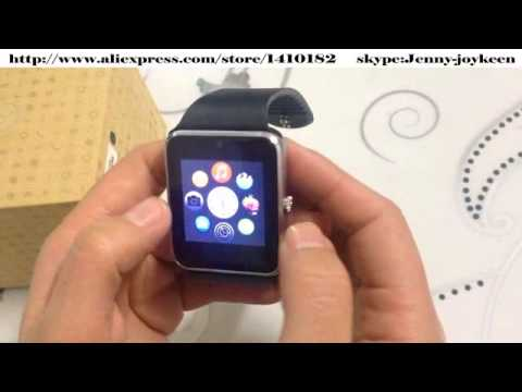 78552393931 2015 fashion GT08 Smart watches work with Android System VS Apple iWatch