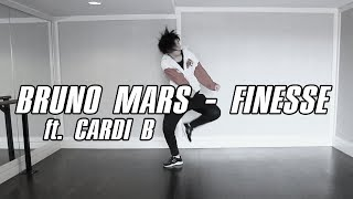 ?KY?Bruno Mars ft. Cardi B ? Finesse(Remix) DANCE PRACTICE COVER @yumer1respect @sir_twitch_alot