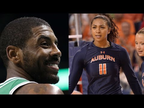 Kyrie Irving HOOKING UP with Volleyball Baddie Breanna Barksdale?