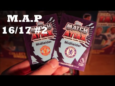 100 CLUB PULL! Match Attax 16 17 pack opening!(M.A.P S3 E1)
