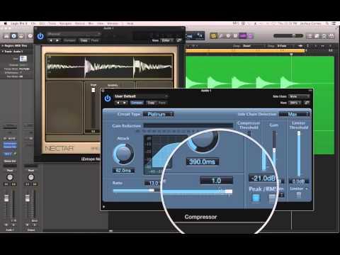 Logic Pro X - #62 - Mixing (part4): Understanding Compression, Compressor Plug-in