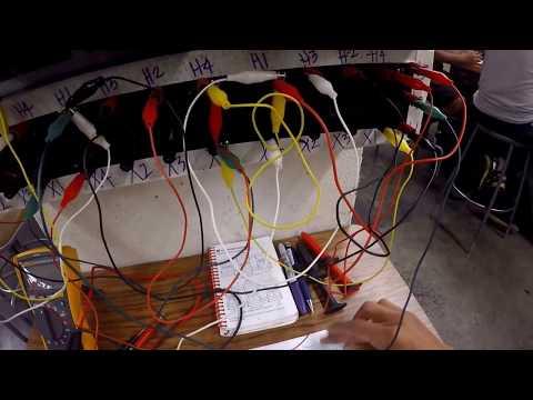 Vegan Electrician @ LATTC 3rd Semester Electrical Program Transformers LAB