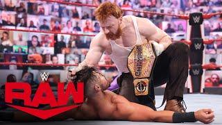 Sheamus attacks Humberto Carrillo: Raw, April 19, 2021