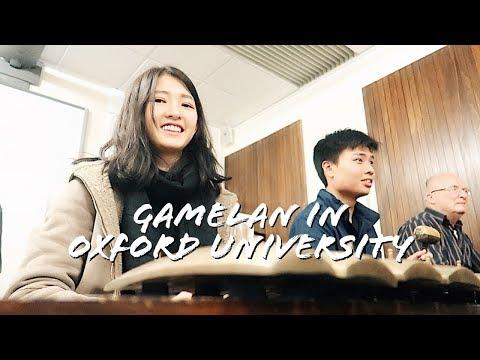 Gamelan in Oxford University, England Diaries Ep. 4 - Cindy Thefannie