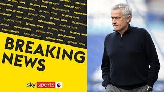 TOTTENHAM SACK JOSE MOURINHO | Spurs confirm that Mourinho & coaching staff have left the club