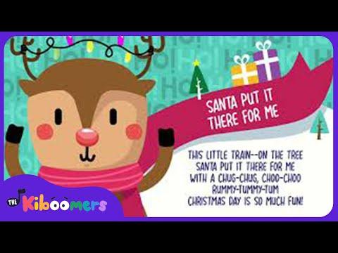 Santa Claus Song | Christmas Song for Kids | The Kiboomers | Christmas Nursery Rhymes | Preschool