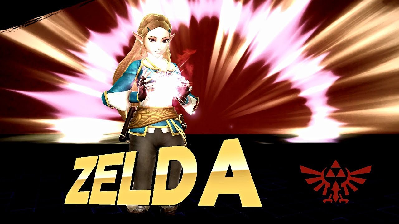 Super Smash Bros Wii U: BOTW Zelda Vs Urbosa Mods by xXMasterJ360Xx