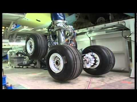 A340-600 final assembly in time laps