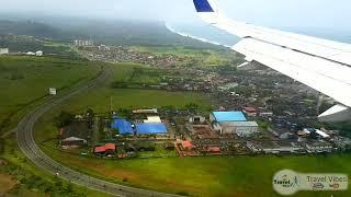 Go Air Landing at Goa Airport | Goa in August