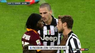 Juventus Roma 3 - 2 (05,10,2014) full highlist
