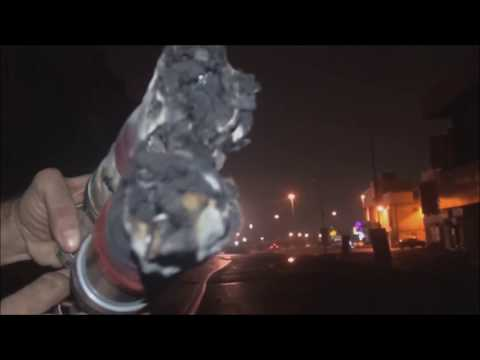 Bahrain : Riot Police Target Stationery Shop With 56mm French Tear Gases and Damage it