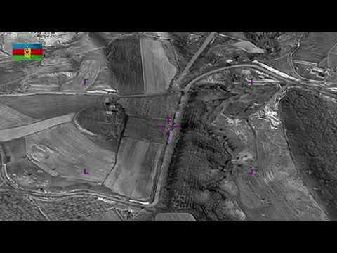 Armenian special forces were destroyed by turkish drone Bayraktar TB2 in Nagorno Karabagh...