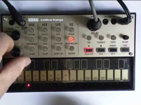 korg volca keys bassline demo 39 step recording 39 youtube. Black Bedroom Furniture Sets. Home Design Ideas