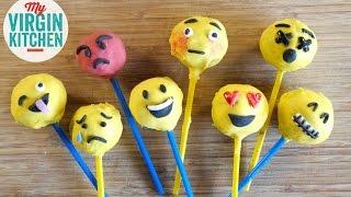 How To Make Emoji Cake Pops