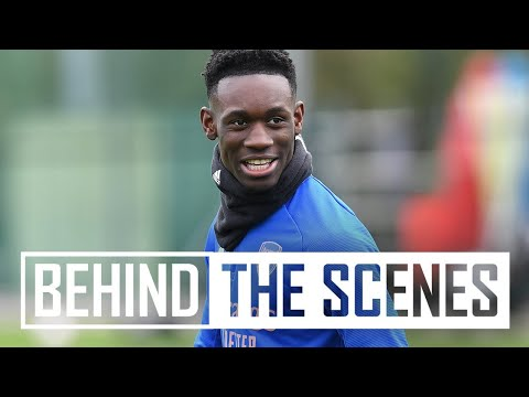 Balogun, Martinelli & Nelson with some top finishes | Behind the scenes at Arsenal training centre