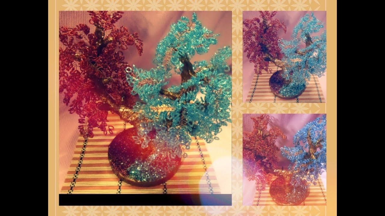 Дерево инь-янь из бисера: пошаговый мастер класс с фотографиями