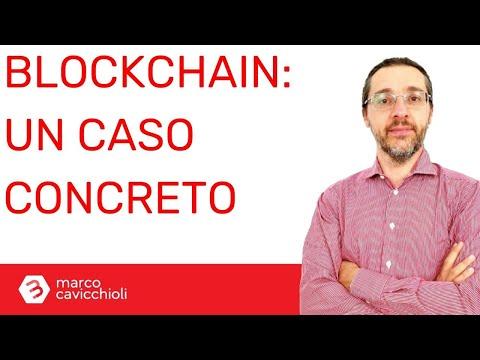 Blockchain: un caso concreto di utilizzo in Italia
