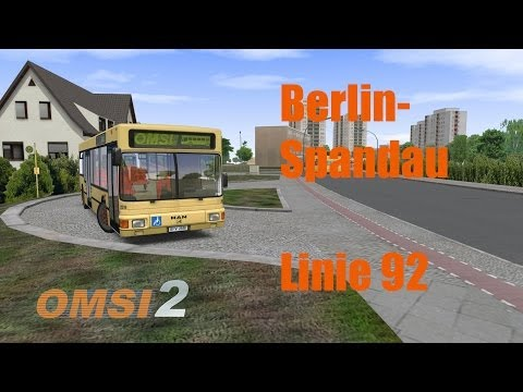 omsi 2 berlin spandau linie 92 3 3 youtube. Black Bedroom Furniture Sets. Home Design Ideas