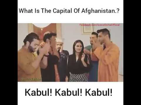 what is the capital of afghanistan
