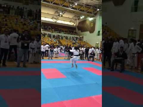 4th UAE OPEN KARATE CHAMPIONSHIP 2017 DIYA KATA  FINAL