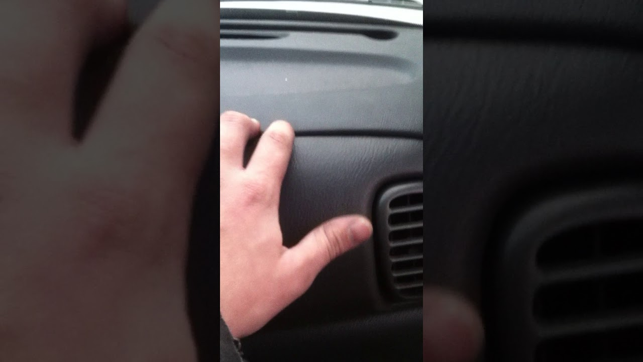 easy fix for dodge ram cracked dash [ 1280 x 720 Pixel ]