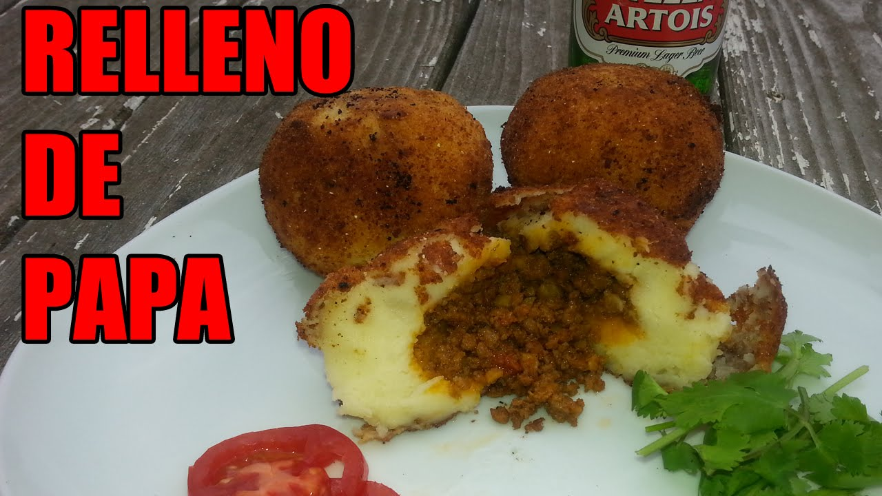 puerto rican relleno de papa recipe episode 19 youtube rh youtube com