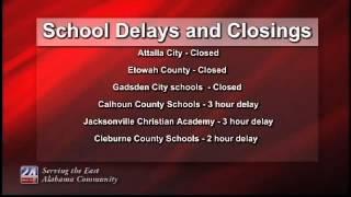 School Closing and Delays   Feb