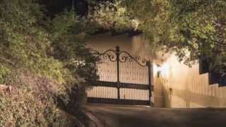 Mulholland Security Gates Los Angeles Bel Air Gates
