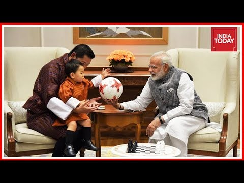 Baby Bhutan Prince Meeting Modi, Sushma Steals The Show During India Visit