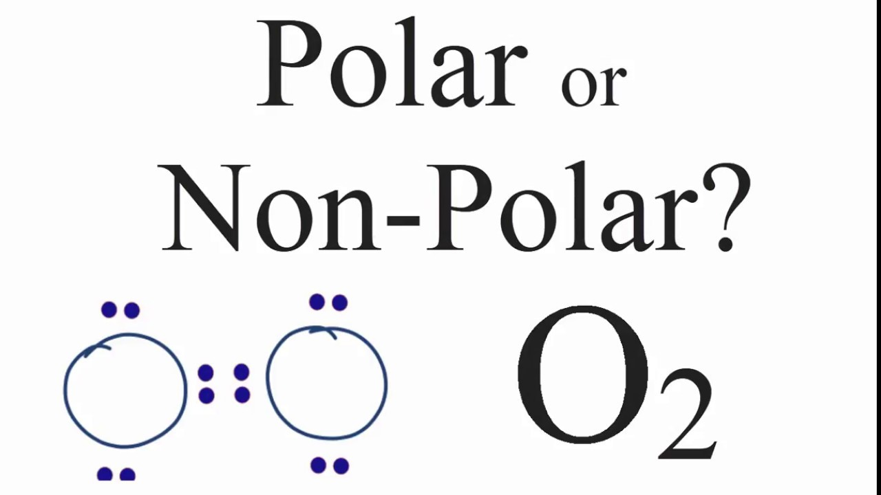 Is O2 Polar Or Non-polar   Oxygen Gas