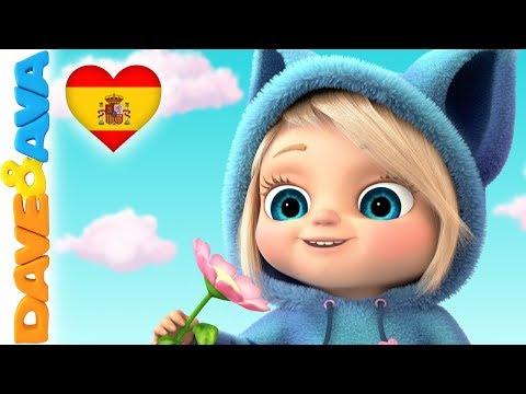 🐹 Canciones Infantiles    Videos para Niños   Dave y Ava 🐹