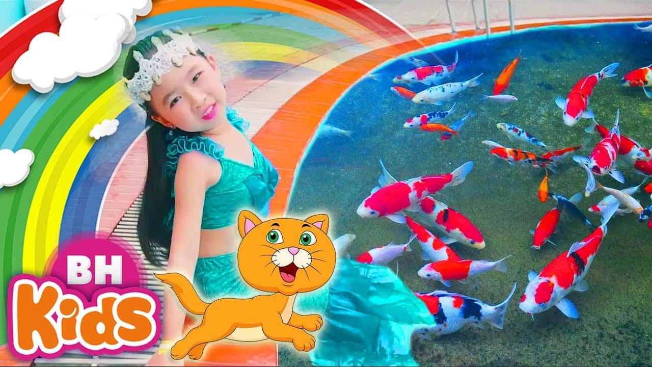 Lk Cá Vàng Bơi Trong Bể Nước ♫ Con Chim Non Trên Cành Cây ☆☆ Nhạc Thiếu Nhi Vui Nhộn Cho Trẻ Mầm Non